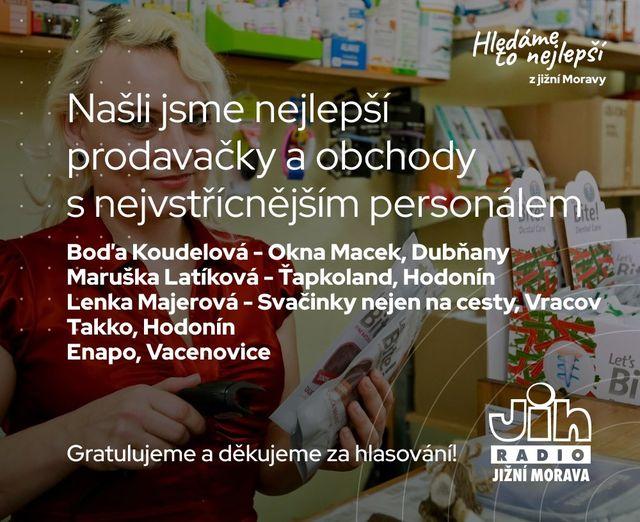 Ťapkoland byl nominován v Soutěži na Radiu Jih - ,,Hledáme to nejlepší z jižní Moravy