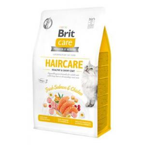 BRIT CARE CAT GRAIN-FREE HAIRCARE 0,4KG