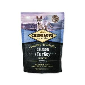 CARNILOVE SALMON  TURKEY FOR PUPPY 1,5KG - LOSOS A KROCAN