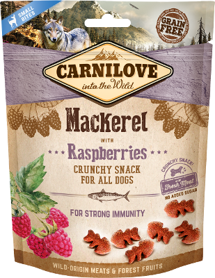 Carnilove Crunchy Mackerel with Raspberries 200 g