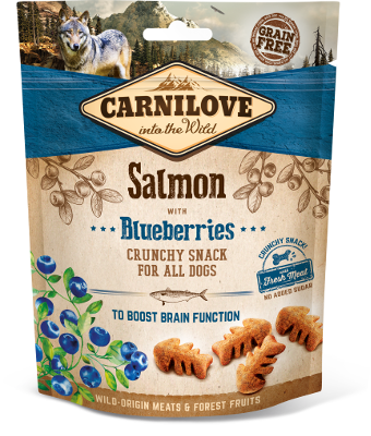 Carnilove Dog Crunchy Snack Salmon & Blueberries 200 g