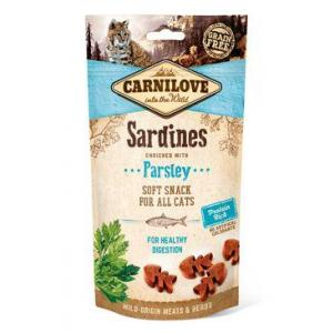 Carnilove Cat Semi Moist Snack Sardine with Parsley 50g